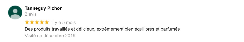 Avis de Tanneguy Pichon sur Le Bonheur des Ogres, Nougatier artisanal à Quistinic (56310)