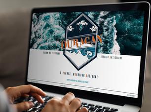 Site Internet Marchand pour Ouragan, Salon de Tatouage & Atelier Artistique à Vannes.