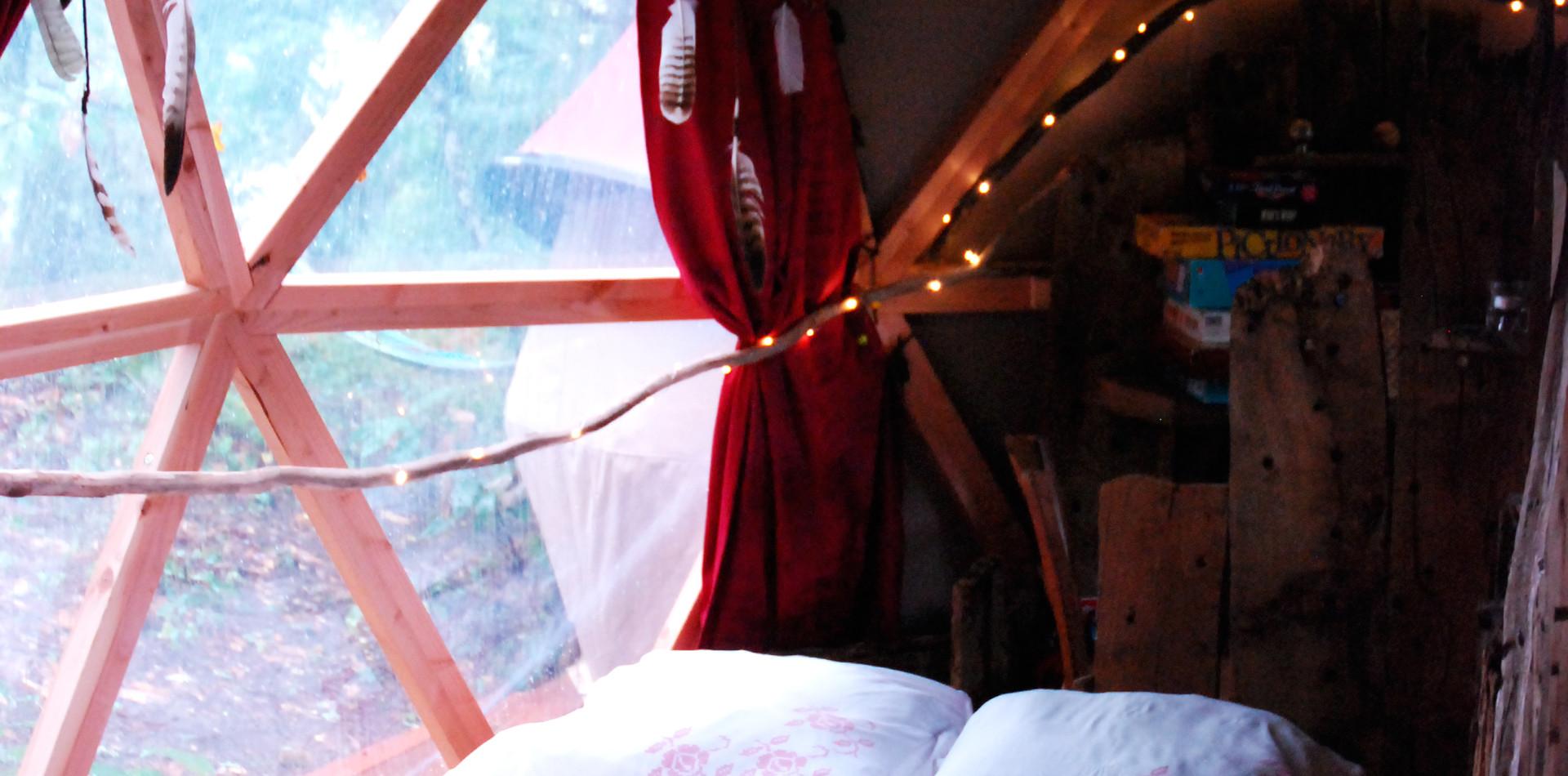 Cabane de la Séléné Lit double