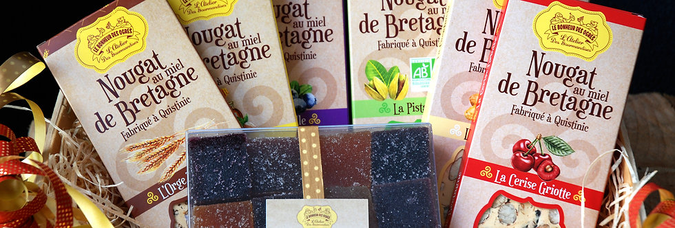 Coffret 6 Nougats & Pâtes de Fruits !