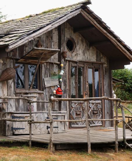 Cabane dun pêcheur vue 2 extérieur