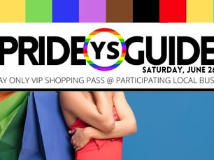 SHOP LOCAL AND SAVE ALL DAY LONG WITH THE YS PRIDE GUIDE