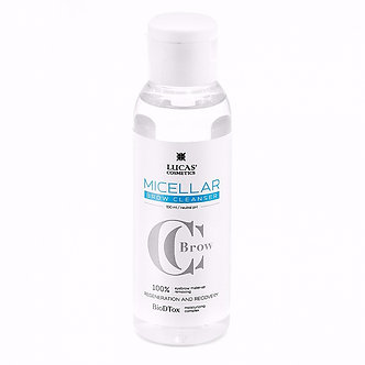 Мицеллярная вода для бровей Micellar Brow Cleanser, 100 мл
