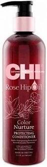 Кондиционер для волос с маслом лепестков роз, CHI Rose Hip Oil 340мл