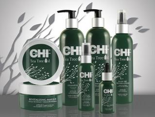 Серия CHI Tea Tree Oil - для ухода за сухими ослабленными волосами и чувствительной кожей головы