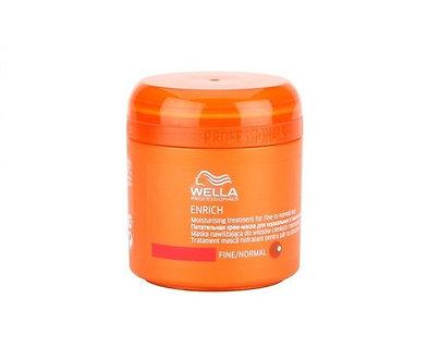 Крем-маска питательная для нормальных и тонких волос Enrich