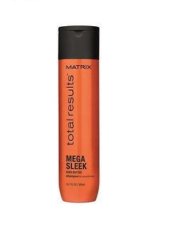 Шампунь с маслом Ши для гладкости волос Mega Sleek