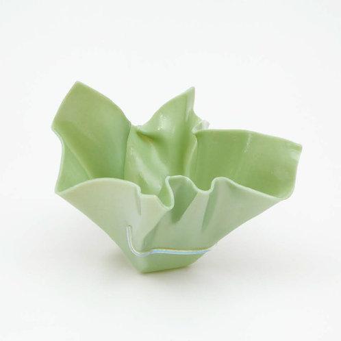 Vaso Verde Água Perolizado