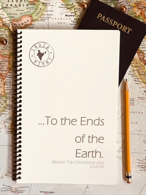 India Trip Devotional and Journal
