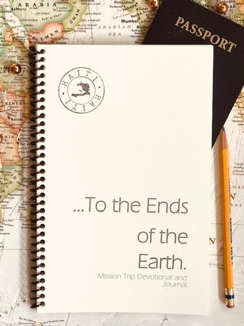 Haiti Trip Devotional and Journal