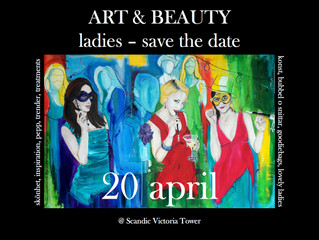 """""""color me beautiful @ Scandic Victoria Tower"""