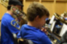 Middle School Student at Delaware Trombone Day