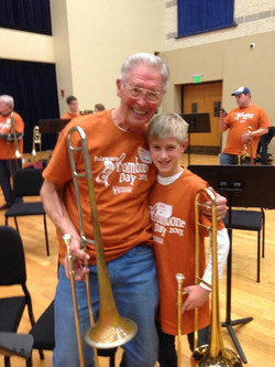 All ages love trombone!