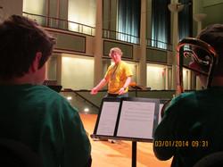Tim Przbelinski conducting