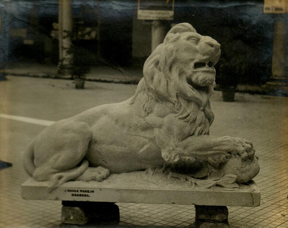 León de piedra