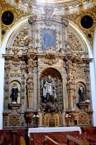 Retablo de San Agustín, Santa Mónica y San Antonio de Padua