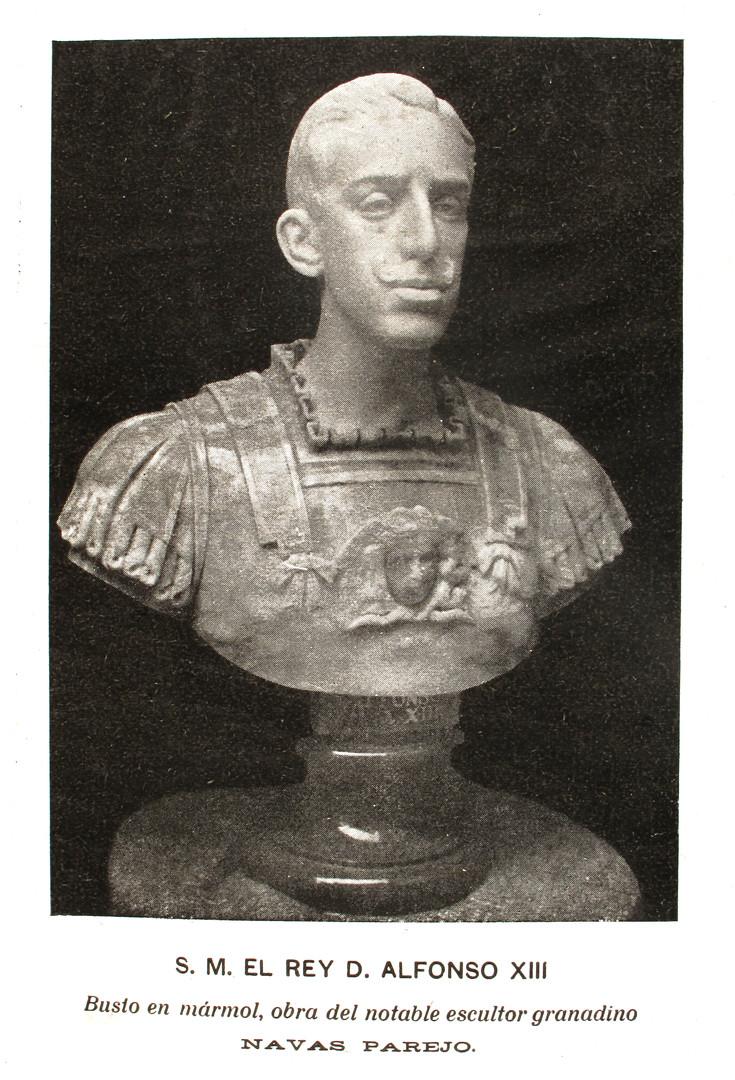 Busto de Alfonso XIII