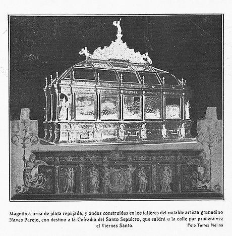 Trono del Santo Sepulcro Granada