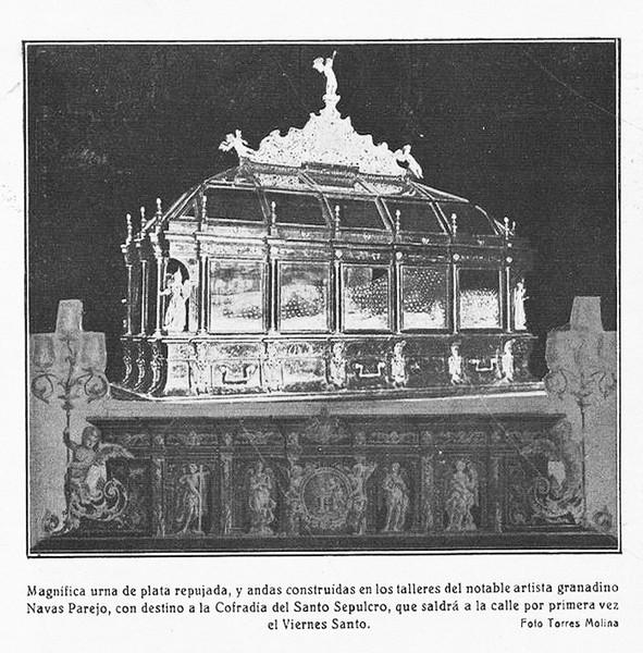 Recorte de la revista Granada Gráfica de marzo de 1927