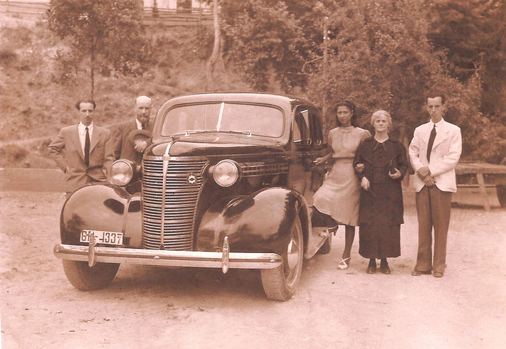 del álbum familiar, 1941.