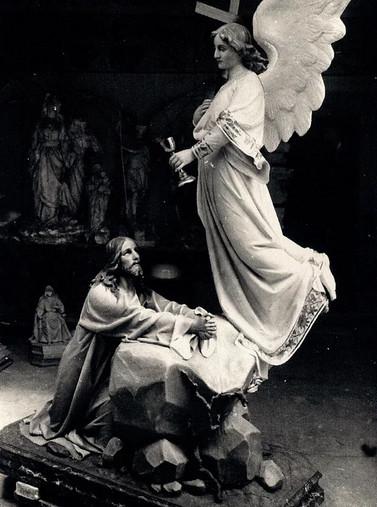 La Oración del Huerto, 1912