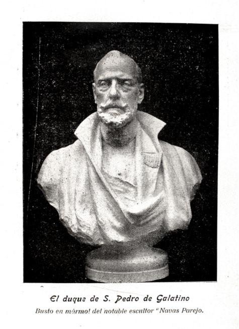 Busto del Duque de San Pedro de Galatino