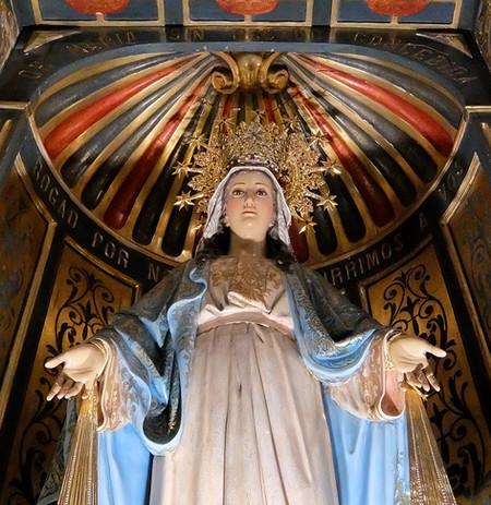 Retablo de María Inmaculada de la Medalla Milagrosa