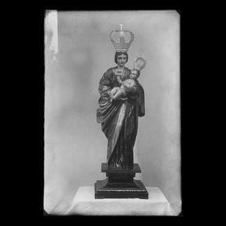 Virgen con Niño en brazos - Barroca
