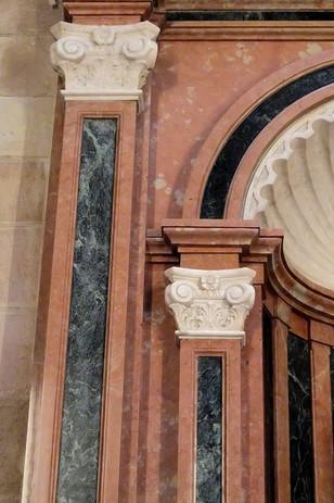 Detalle de columna, Retablo