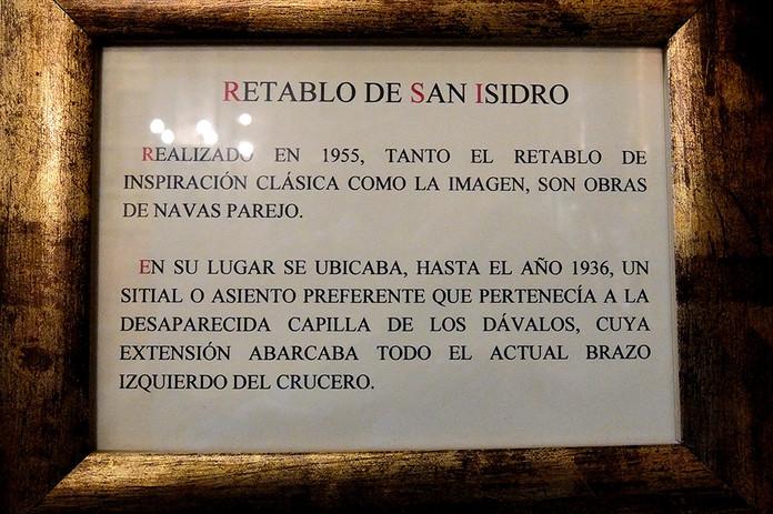 Retablo de San Isidro