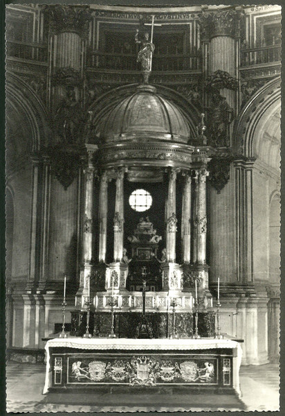 Tabernáculo en plata de la Catedral de Granada, 1922