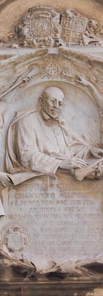 Lápida conmemorativa del Centenario del P. Suárez, 1917