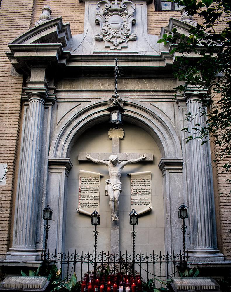 Cristo de las Angustias, 1921