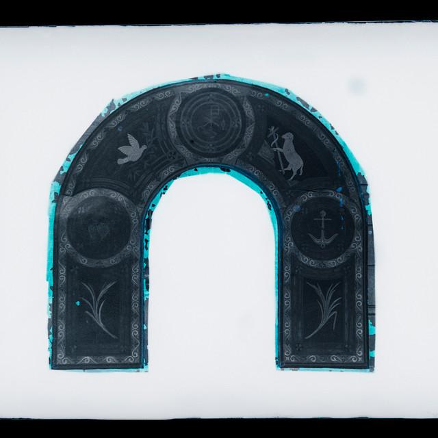 Altar - detalle - arco Románico