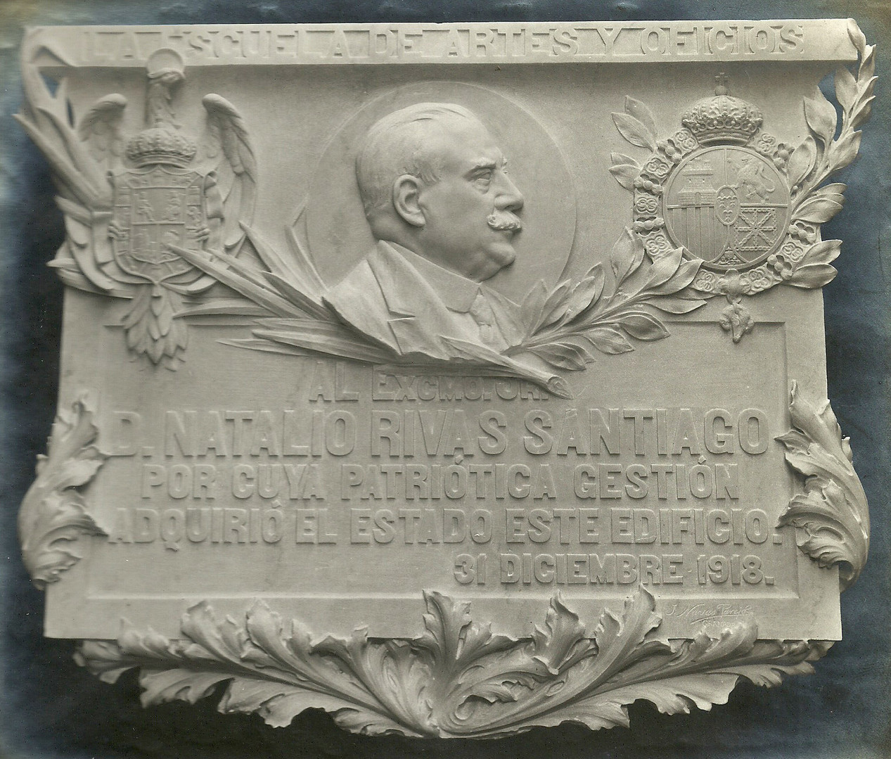 Relieve de Natalio Rivas