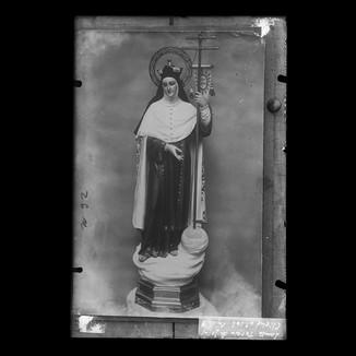 Santa Teresa de Jesús con estandarte