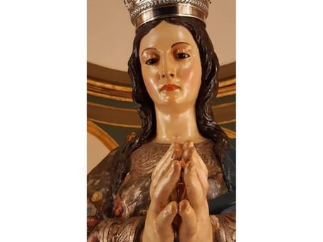 La primera talla mariana de José Navas