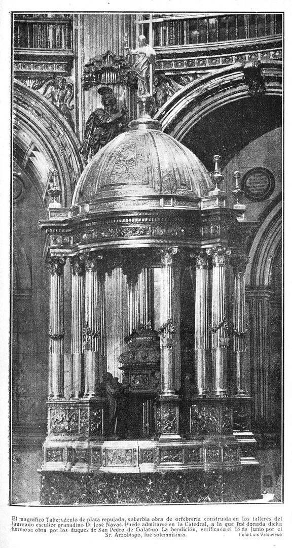Tabernáculo de la Catedral de Granada