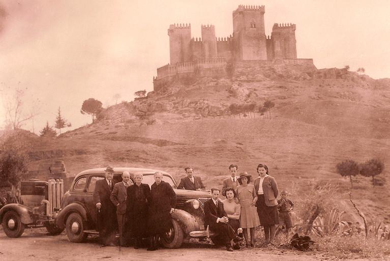 En el Castillo de Almodóvar del Río