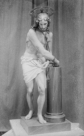 Jesús atado a la columna, 1914