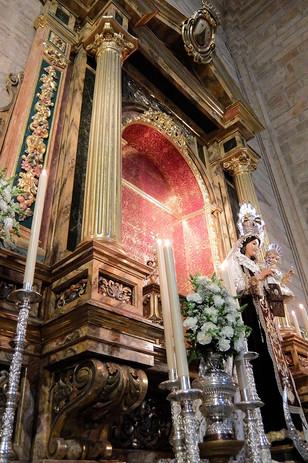 Retablo Virgen del Carmen