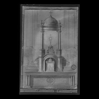 (Templete) manifestador y Sagrario con mesa de altar - proyecto