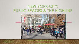 New York City-Public Spaces and the High
