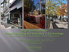 High Street Design-Future Proofing for V