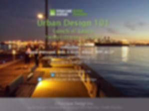 ULI Urban Design Lunch nL earn 101-Octob
