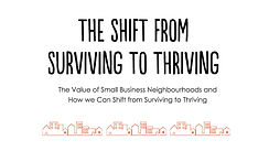 The Shift From Surviving to Thriving - u