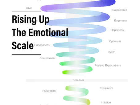 Rising Up the Emotional Scale