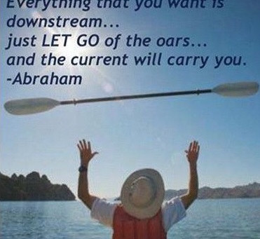 Letting Go of the Oars