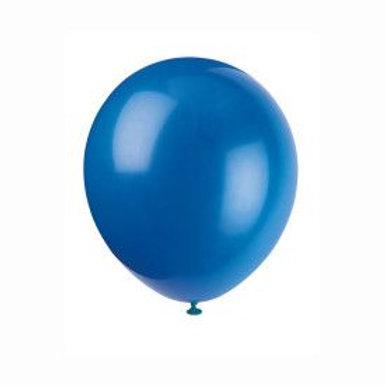 "Balloon Latex 12"" Royal Blue 72C"
