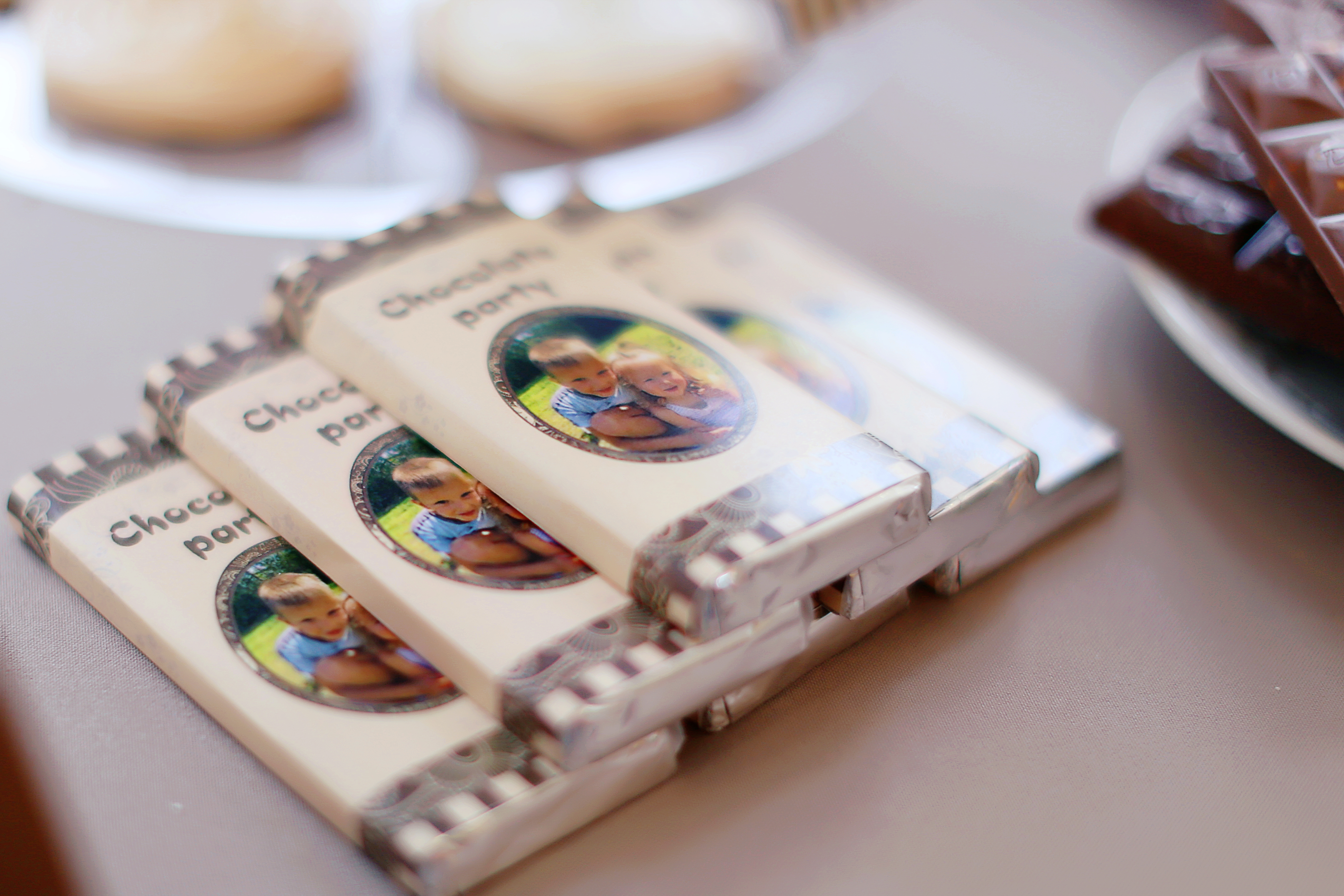 этикетки на шоколад